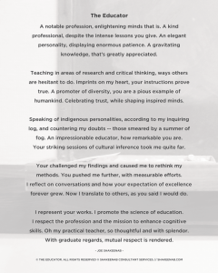 The Educator Poster